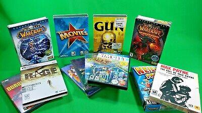 Huge Lot Bundle Of 12 Great Pc Games Wow Gun Max Payne More