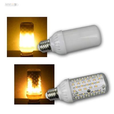 E27 LED Licht Beleuchtung Fackel Feuer Lampe Flammen Flickering Warme Farbe