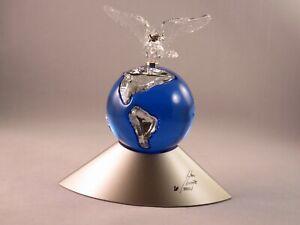 Swarovski-Crystal-Planet-Millennium-Edition-Retired-in-2000-MIB