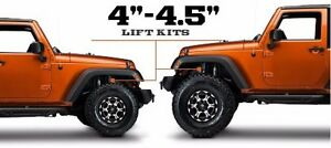 4 inch lift kit Jeep Wrangler arms Springs shocks ke line's ...