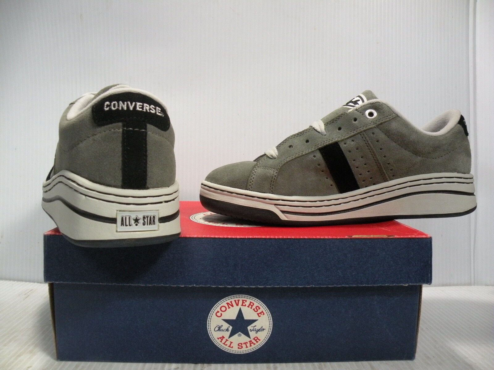 CONVERSE ATHLETIC 12773 MATCH-UP OX SUEDE SKATE VINTAGE Uomo SCARPE 12773 ATHLETIC SIZE 9 NEW 5ef2e6