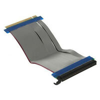 Flexible Pci-e Pci-express X16 To X16 Riser Card Extension Adapter Cable