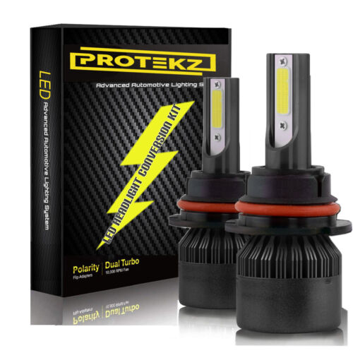 Protekz LED Headlight Kit 2 Bulbs CREE 9005 HB3 6000K for 2016-2018 Kia Optima