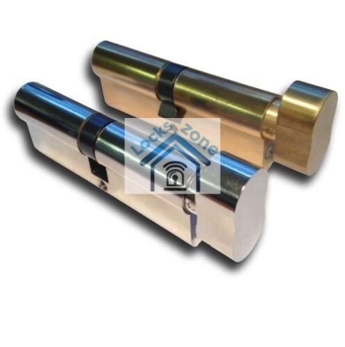 ERA Door Lock 6 Pin Euro Cylinder 35//35 Double Glazed Door UPVC Satin chrome