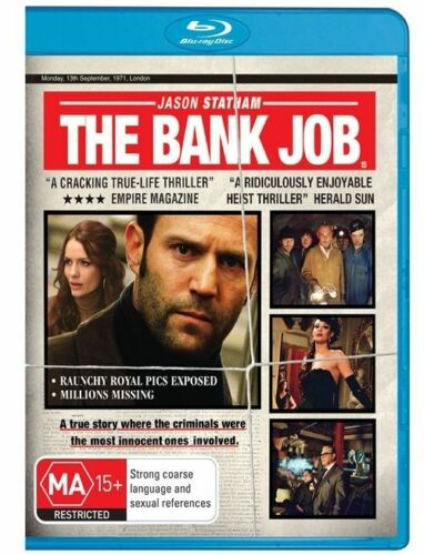 1 of 1 - The Bank Job (Blu-ray, 2008) BRAND NEW & SEALED