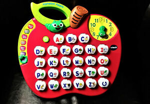 VTECH Alphabet Apple Talking Learning Toy