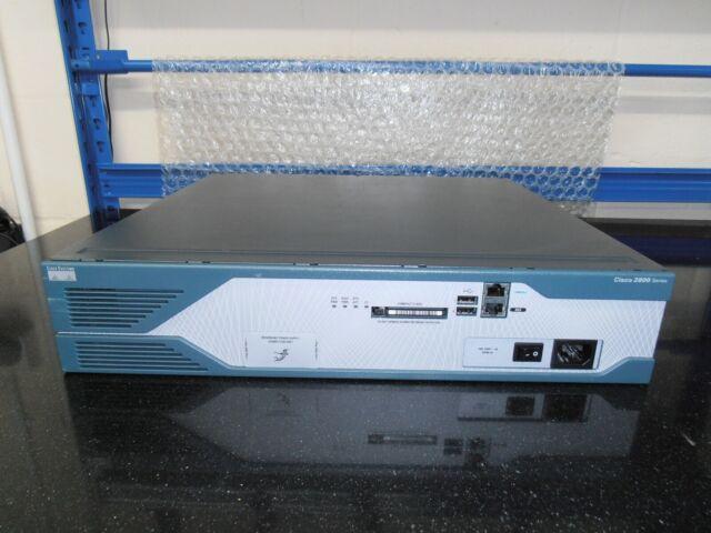 Cisco 2851 Routeur 256/64 Ios 15 Ccna Ccnp Ccie