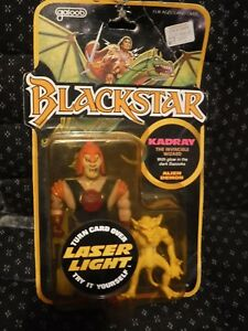 1983 Blackstar Kadray Invincible Wizard W / Bazooka & Glowing Demon Nouveau