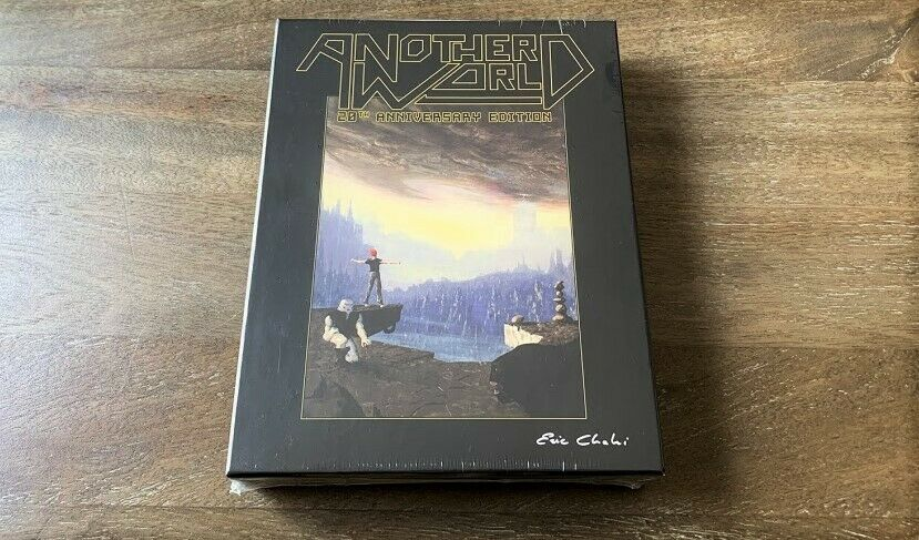 Another World 20th Anniversary Edition ps4 Limited Run Games Collectors New BGG