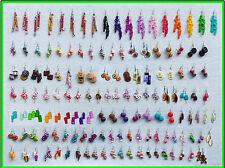 LOT 50 paires BIJOUX GOURMANDS FUNNY EARRINGS BOUCLES D'OREILLE LOT REVENDEURS