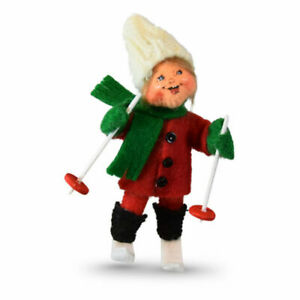Annalee-Dolls-2019-Christmas-3in-Skiing-Kid-Ornament-Plush-New-with-Tag