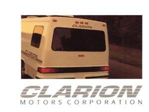 clarion motorhome operations ac furnace manuals 525pgs for rv rh ebay com RV Generator Maintenance RV Maintenance Guide