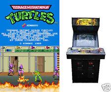 Teenage Mutant Ninja Turtles Arcade Game Jamma PCB Board 2 Player Upgrade TMNT