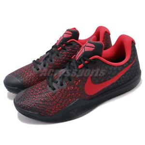 85a822e3114a Nike Mamba Instinct EP Kobe Bryant Black Red Men Basketball Shoes ...