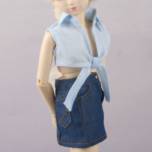 PF 80# Blue Girl Shirt 1//4 MSD AOD DZ LUTS BJD Girl Doll Dollfie