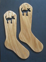 Max The Dog Oak Sock Blockers By Purrfectly Catchy Designs
