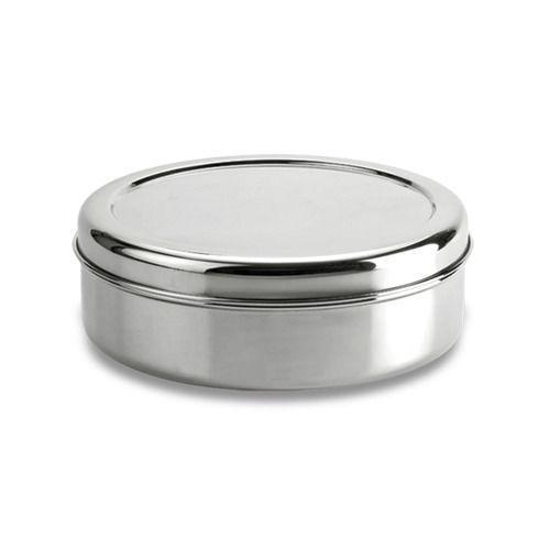 - Acier inoxydable gâteau stockage tin canister conteneur Puri Dabba-Haute Qualité