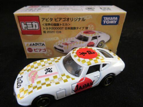 ***TSS Tomica Toyota 2000GT Japanese Flag Ver Apita Shop Special Model