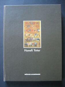 Hanefi yeter 1969 - 1982-Catalogue Book-Autographed-Cheerful & Kaufmann