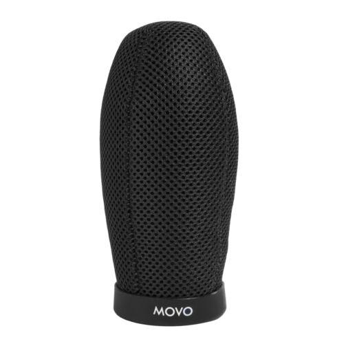 Movo WST140 Ballistic Acoustic Nylon Microphone Windscreen for 12cm Shotgun Mics