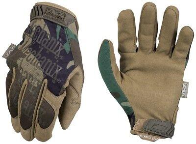 US Mechanix Original Camo WOODLAND Handschuhe Gloves Tactical USMC XXL / XXLarge