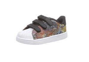 Discriminar Tener cuidado Oriental  Boys Girls Kids Adidas Superstar Star Wars CF I Trainers Shoes Sneakers  B24727 | eBay