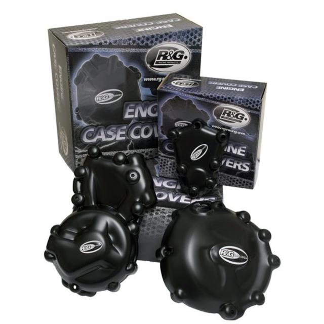 GSX R750 2005 K5 R/&G Racing LHS Generator Engine Case Cover ECC0127BK Black