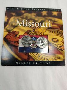 2003 Missouri State Quarters Coins of America U.S. Minted Quarter Dollar