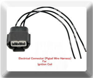 Details about Electrical Pigtail Wire Harness Connector of Ignition on