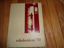 1970 St. Scholastica High School Yearbook Chicago