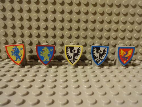 G9//1 LEGO RITTERBURG SCHILD 3846px10 3846p4h 3846p4q 3846px9 3876 6085 6080 kg