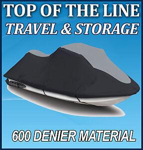 HONDA AQUA TRAX R-12// R-12X Jet Ski JetSki Watercraft Cover Black//Grey 04 06