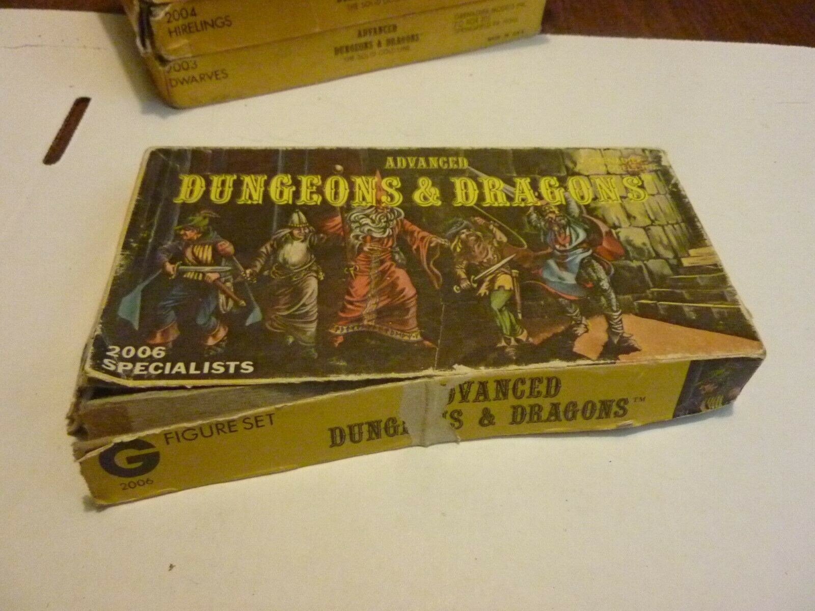Vintage Dungeon & Dragons Grenadier Miniatures Specialists 2006 Complete w Box