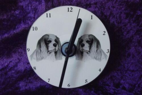 Cavalier King Charles Spaniel CD Clock by Curiosity Crafts