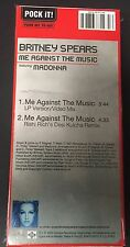 BRITNEY SPEARS Feat MADONNA -ME AGAINST the MUSIC- CD MINI LONGBOX 3 Inch 21x9,5