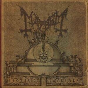 MAYHEM-ESOTERIC-WARFARE-DELUXE-DIGIPACK-CD-NEU