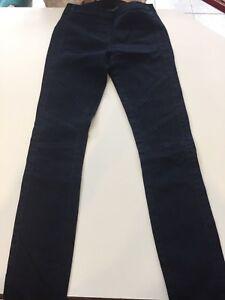 Elastic Xxs Blu scuro Leg Skinny Max Sz Bcbg Azria Jean Waist wRqXngU