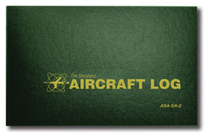 NEW ASA Aircraft Log - Hard Cover | ASA-SA-2 | Aircraft Logbook