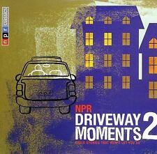 Driveway Moments, Vol. 2 by Various Artists (CD, Sep-2005, 2 Discs, NPR Recordings)