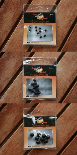 1 Paket Gummiperlen Sänger vers.Größen erhältlich Iron Trout Rubber Beads