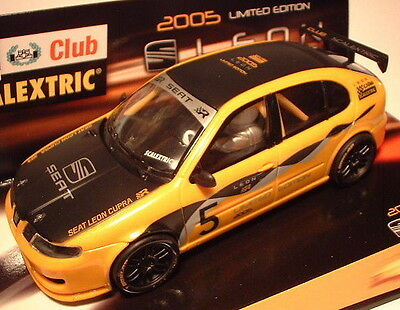Qq 6169 Scalextric Seat Löwe Scalextric Club 2005 Only Für Club Members Strengthening Waist And Sinews scx