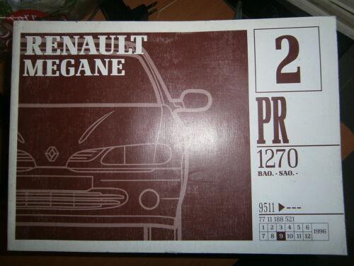 Renault MEGANE hayon catalogue pièces PR1270-2