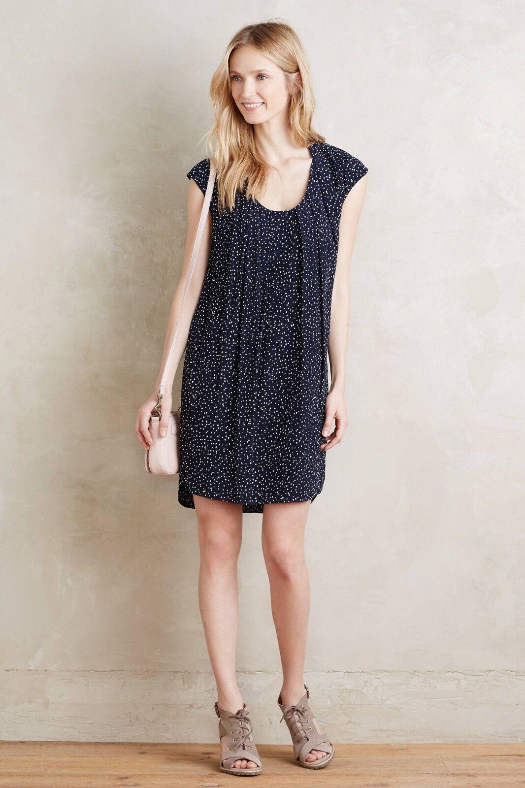 NWT Anthropologie Au Revoir Dress by Maeve Navy Size 2