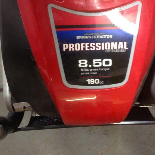 PRESSURE WASHER PUMP TROY-BILT BRIGGS /& STRATTON 190CC PROFESSIONAL SERIES  8.50