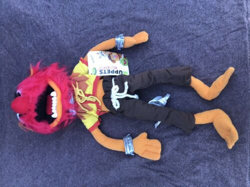 """The Muppets Most Wanted Animal Drummer 17"""" Plush Figure Disney Store Exclusive"""