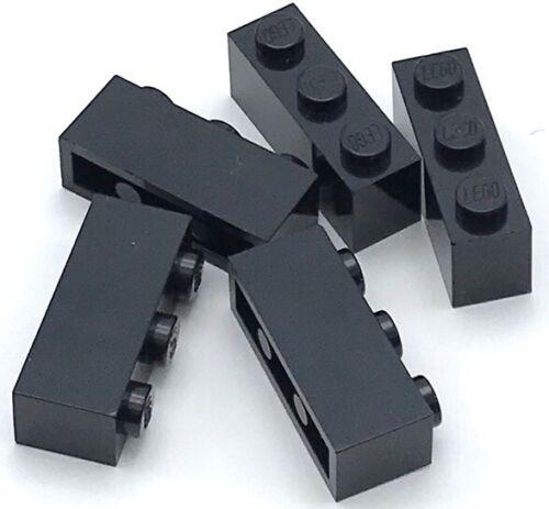 Lego 5 New Black Bricks 1 x 3 Building Blocks Pieces