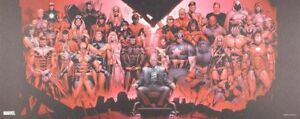 Affiche Offset X-Men Portrait de Famille