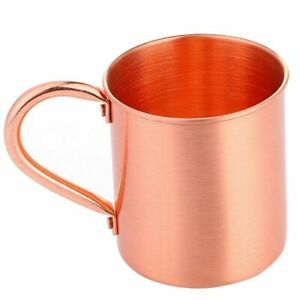15 Oz Pure Copper Mug Cup Moscow Mule Coffee Drinking Camping Large Home