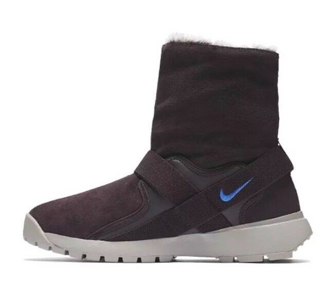 NIKE NIKE NIKE GOLKANA BOOTS WOMENS sz 9   MENS 7.5 SUEDE WINTER SNOW FAUX FUR NWOB NEW e12e82
