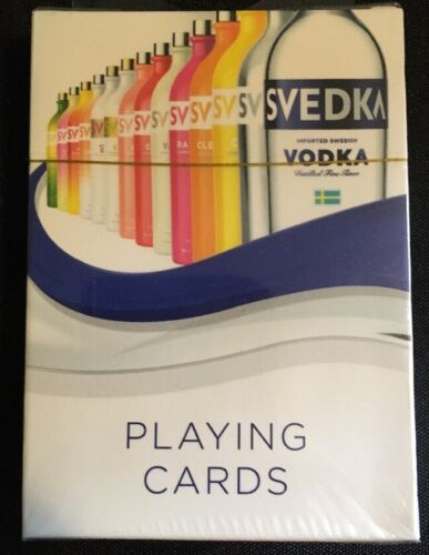 2015 Svedka Vodka Advertising Playing Cards Sealed Spirits Marque One Swedish